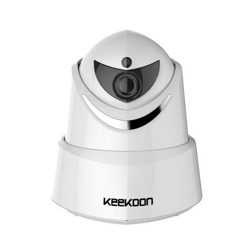 Indoor 2.0 MP P2P Wi-Fi IP Camera 1080P Video Recording Home Surveillance Security CCTV Surveillance Camera Baby Pet Senior Monitor Pan//Tilt Plug//Play IR Night Vision Two-Way Audio Motion Detect Alert