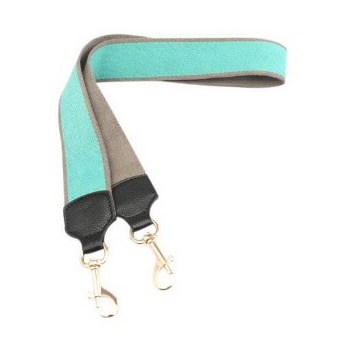 Widen Replacement Handbag Strap Crossbody Straps With 2 Pcs Metal Buckles, Green