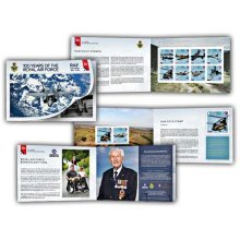 100 Years of the Royal Air Force Prestige CTO Booklet