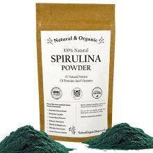 Natural & Organic - SPIRULINA Powder - 100% Natural
