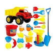 Beach Toys Set Child Dredging Tools-21/Luxury Carts