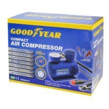 GOODYEAR Mini Air Compressor Compact 3m cord Lightweight Light Sporting Camping