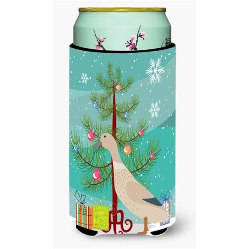Carolines Treasures BB9225TBC West Harlequin Duck Christmas Tall Boys Beverage Insulator Hugger