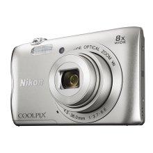 Nikon Coolpix A300 Digital Camera Silver