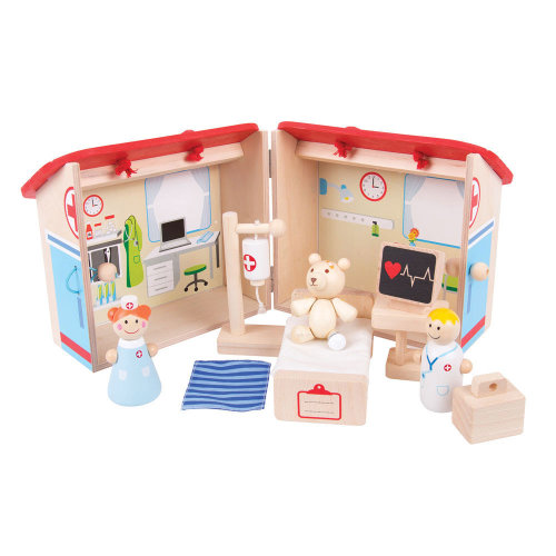 Bigjigs Toys Mini Hospital Playset