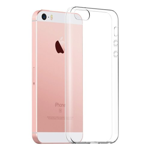 the latest d5fef cc237 The Keep Talking Shop Cases Clear Cover for iPhone SE / 5S Case Gel TPU  Silicone Soft Flexible Shockproof Back Protector Phone Case for Apple...