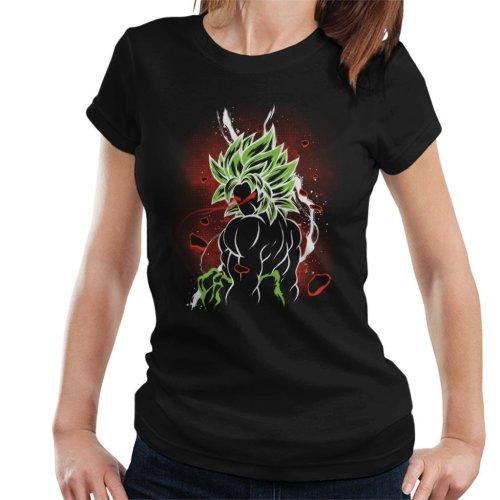 Dragon Ball Z Beserk Red Eyes Women's T-Shirt