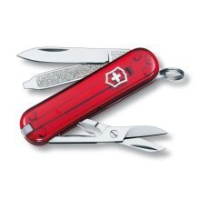 Victorinox Classic Sd Jelly Red Swiss Army Knife. New