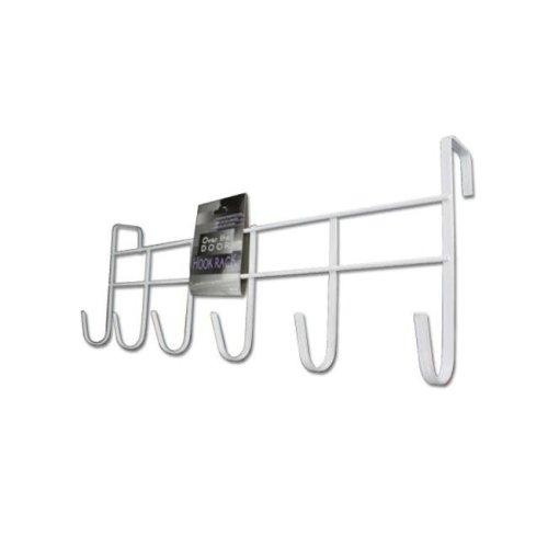 Bulk Buys HH153-40 Over-The-Door Hook Rack