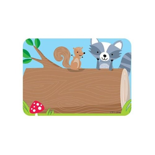 Creative Teaching Press CTP4579BN 3.5 x 2.5 in. Woodland Friends Labels - Pack of 6