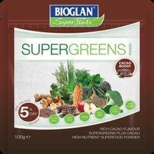 Bioglan Supergreens Cacao Boost 100g