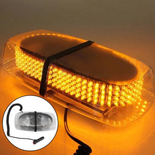 New 12V LED Amber Warning Strobe Recovery Car Flashing Magnetic Beacon Light UK