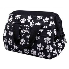 Wahl Grooming Frogmouth Bag White Paw Print On Black