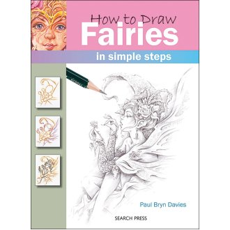 Search Press Books-How To Draw Fairies