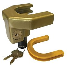 Heavy Duty Ball Tow Hitch Lock & Keys for Towing Caravan/Trailer Security