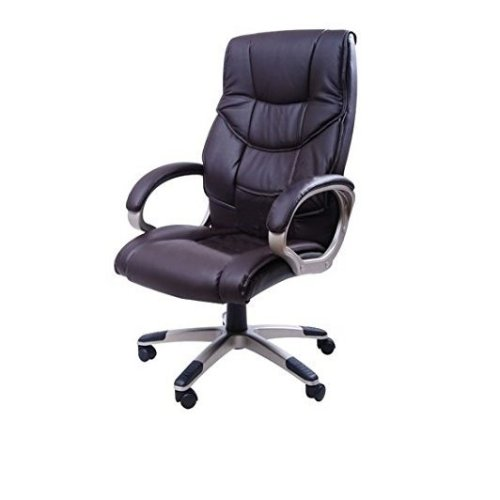 Homcom Office Chair Pu Leather Swivel