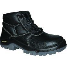 Delta Plus Proton S1P Black Leather Mens Composite Toe Cap Safety Boots