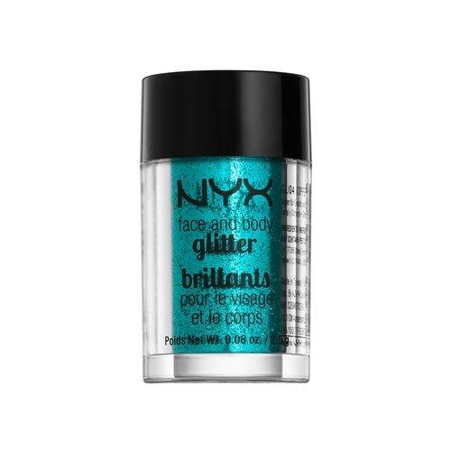 NYX glitter brillants for face and body COLOR GLI03 TEAL SARCELLE