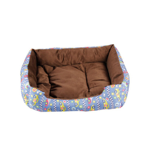 Soft Warm Indoor Quiet Time Pet Bed/sofa,NO.1,blue
