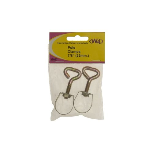 Awning Pole Adjustment Clamp - 7/8in./22mm - Pack of 2