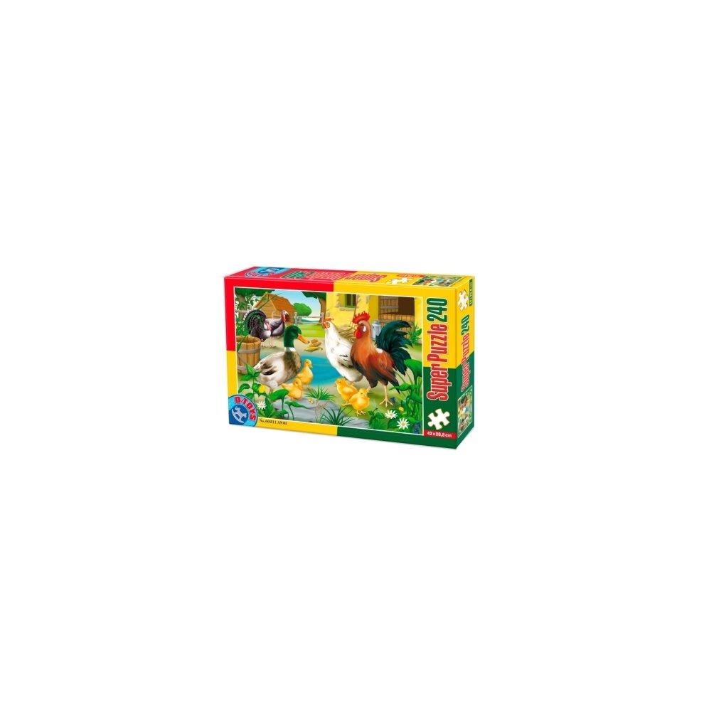Super Puzzle 240 * D-Toys DT60211-AN-01 Animals 1