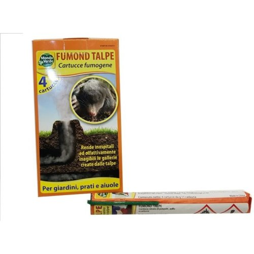4pc Smoke Bomb Professional Mole Repellent | Pest Control Mole Smoke Bomb