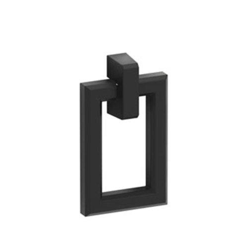Kohler K99687HF3 Poplin Rectangular Pull, Black