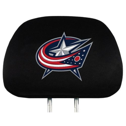 Pro Mark HRNH08 14 x 10 in. Columbus Blue Jackets Headrest Cover