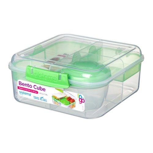 Sistema Bento Cube 1.25L, Lime Green