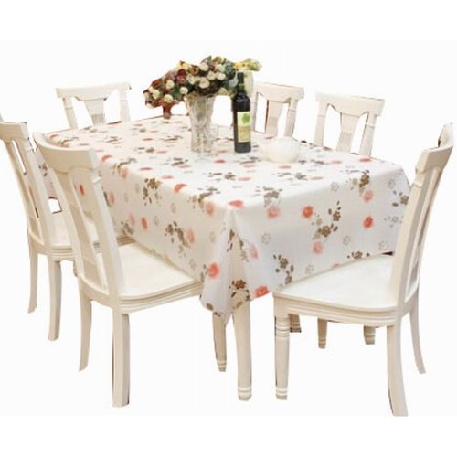 Beautiful Waterproof Tablecloths Practical Table Linens Table Covers [137*180cm]