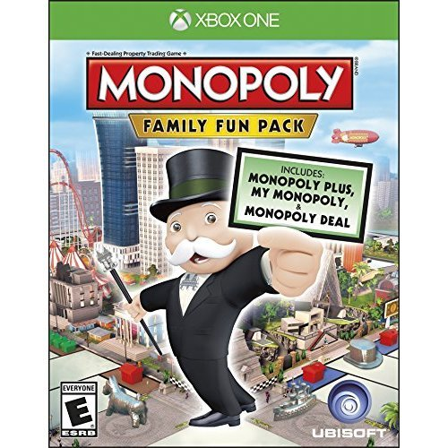 Monopoly Family Fun Pack Xbox One Standard Edition