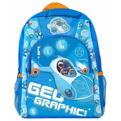 Go Jetters CBeebies School Bag for Boys Rucksack for Kids Toddlers Holiday Bags BBC Kids