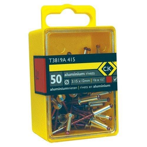 CK T3819A 512 Pop Rivets Aluminium 3.8x9mm Box Of 50