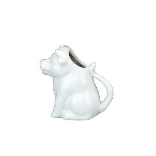 Ceramic Cow Milk Jug | White Cow Creamer