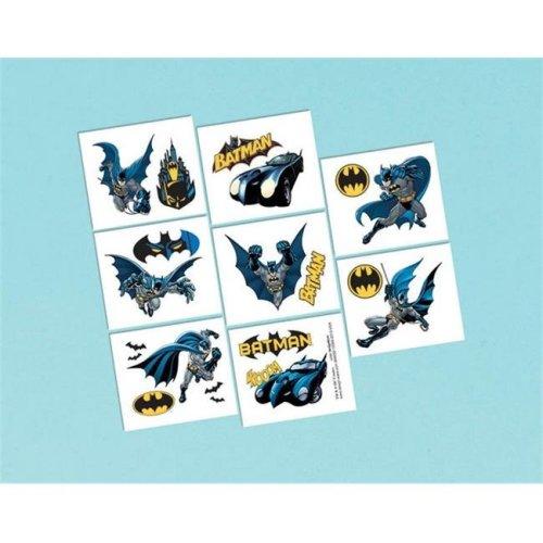 Amscan 394030 Tattoos - Batman - Pack of 192