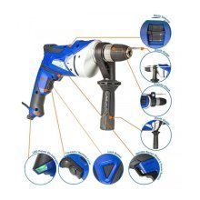 Hyundai HY2158 710w Corded Electric 230V Impact Drill