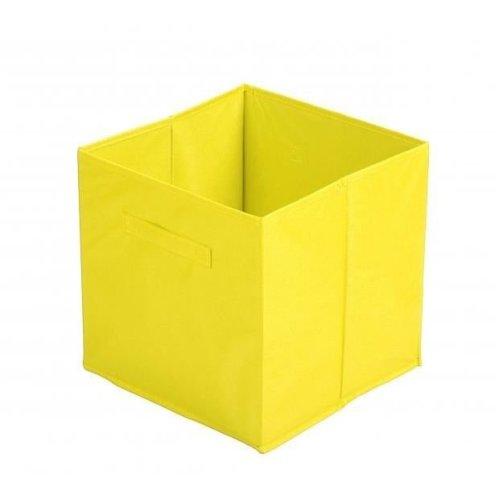 Fabric Storage Cube 31X 31 X31 Cm Yellow