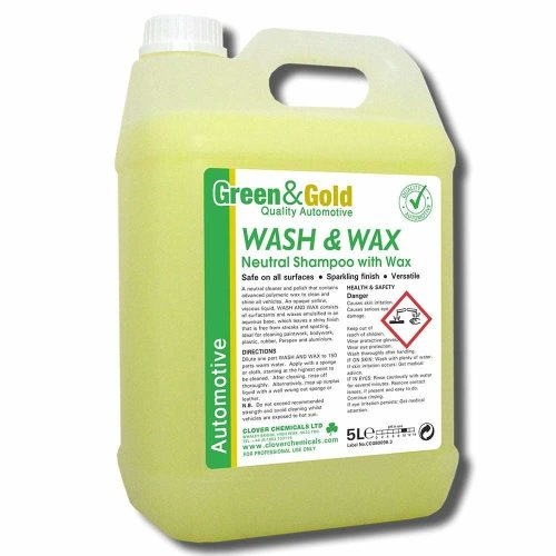 Clover Wash and Wax 5L