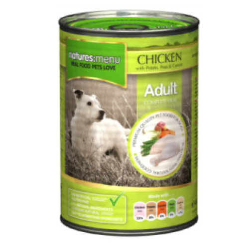 Natures Menu Chicken Can, 12 x 400g