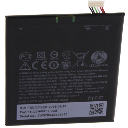 Battery for HTC Desire 626 2000mAh 35H00237-00M Replacement Battery