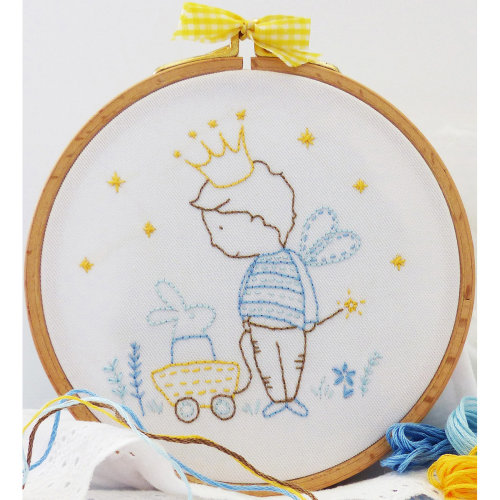 """Charles Craft/Tamar Embroidery Kit 8""""X8""""-My Private Kingdom"""