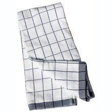 E-cloth Classic Check Black E Towel