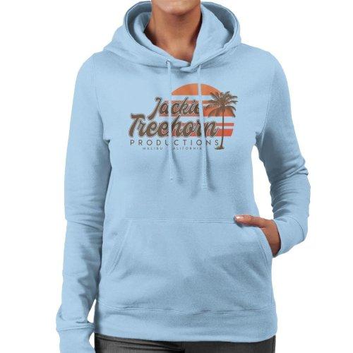 Jackie Treehorn Productions Boogie Nights Women's Hooded Sweatshirt