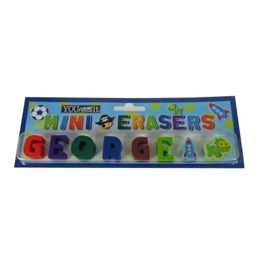 Childrens Mini Erasers - George