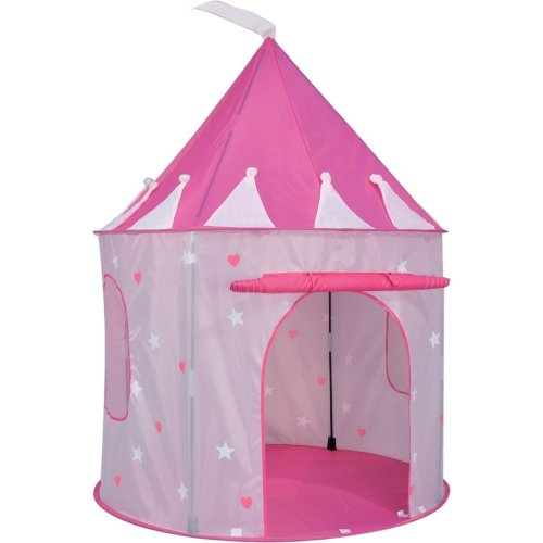 ViVo Pop Up Princess Play Tent Pink Castle Fun Outdoor Indoor Hearts Stripes  sc 1 st  OnBuy & ViVo Pop Up Princess Play Tent Pink Castle Fun Outdoor Indoor ...
