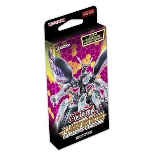 Yu-Gi-Oh! FLODSE Flames of Destruction Special Edition Trading Cards