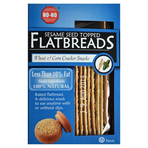 No-No Flatbreads  Flatbreads - Corn Sesame 130g x 12