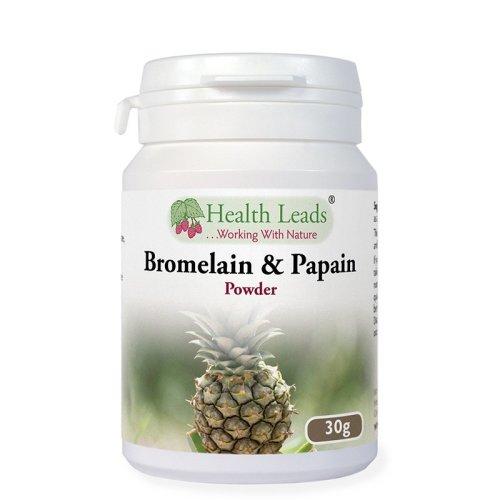 Bromelain and Papain Powder 30g @ 1:10