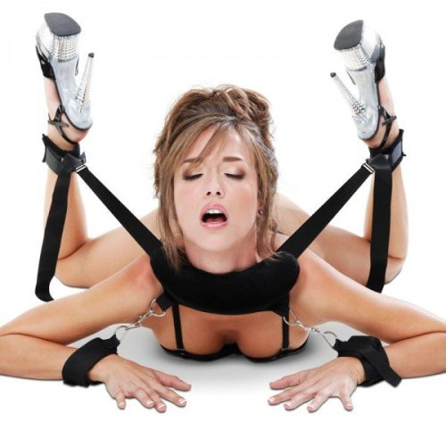 Fetish Fantasy Series Position Master With Cuffs Black