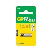 GP 27A A27 L828 12V Alkaline Battery - Pack of 10 (GP27A)